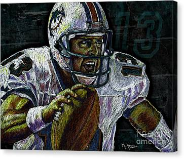 Marino Canvas Print by Maria Arango