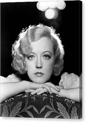 Marion Davies, Early 1930s Canvas Print by Everett