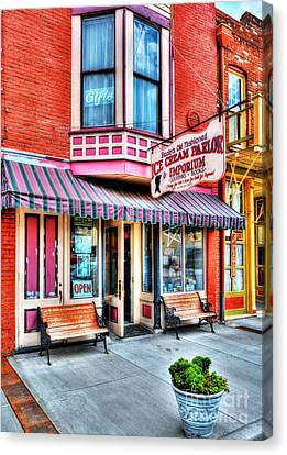 Mark Twain's Town 2 Canvas Print by Mel Steinhauer