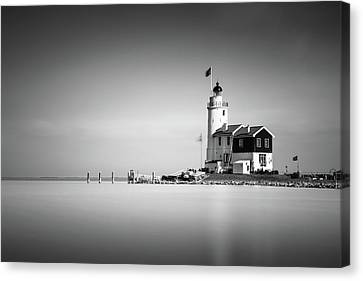 Marken Lighthouse Canvas Print by Ivo Kerssemakers