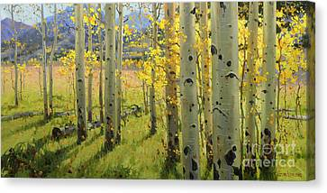 Maroon Creek Canvas Print by Gary Kim