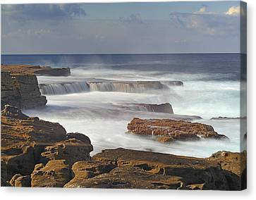 Maroubra Seascape 01 Canvas Print by Barry Culling