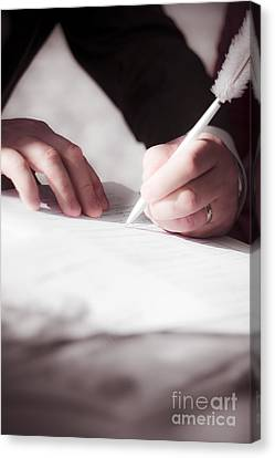 Marriage Certificate Canvas Print by Jorgo Photography - Wall Art Gallery