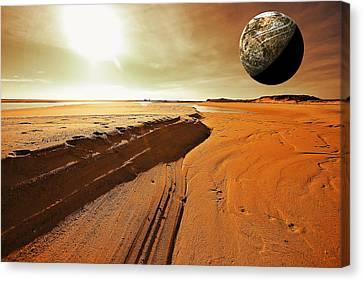 Mars Canvas Print by Dapixara Art