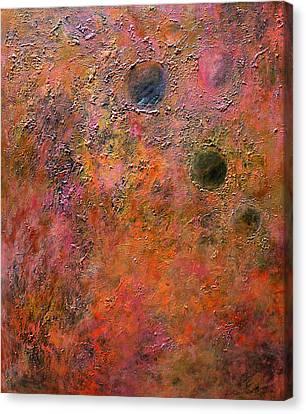 Mars Canvas Print by Pamela Lukrecja