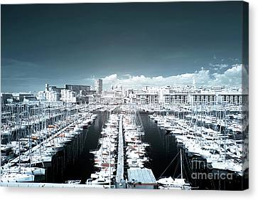 Marseille Blues Canvas Print by John Rizzuto