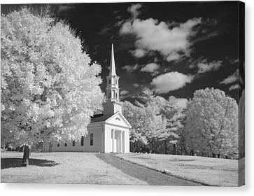 Martha And Mary Chapel Canvas Print by James Walsh