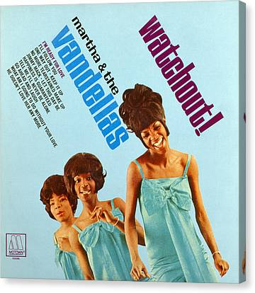 Martha And The Vandellas Canvas Print by Granger
