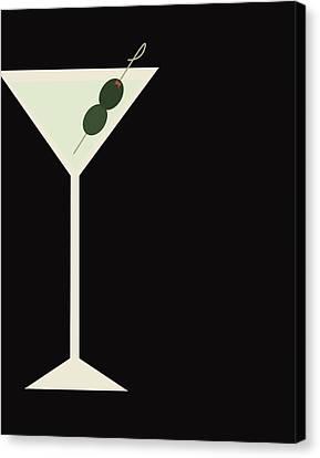 Martini Canvas Print by Julia Garcia