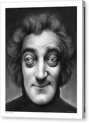 Marty Feldman Canvas Print by Greg Joens
