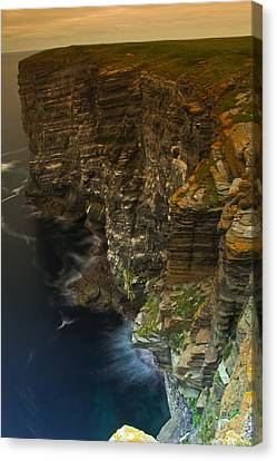 Marwick Head Orkney Scotland Canvas Print by Gabor Pozsgai