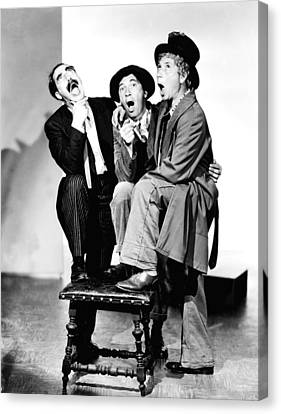 Marx Brothers, The Groucho, Chico Canvas Print by Everett