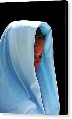 Mary Canvas Print by David Paul Murray