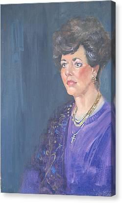 Mary Jane Canvas Print by Len Stomski
