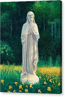 Mary Canvas Print by Joe Winkler