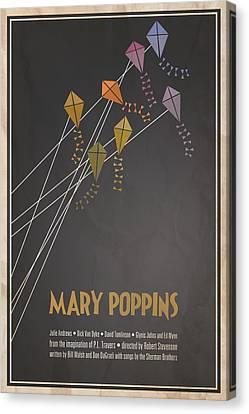 Mary Poppins Canvas Print by Megan Romo