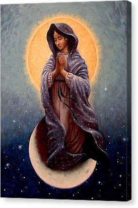 Mary Queen Of Heaven Canvas Print by Timothy Jones