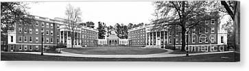 University Of Mary Washington Residence Halls Canvas Print by University Icons