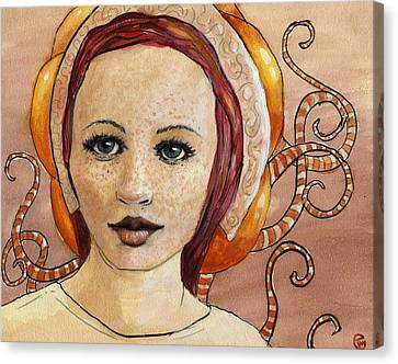 Mascara Canvas Print by Ethan Harris