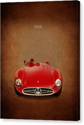 Maserati 300 S Canvas Print by Mark Rogan