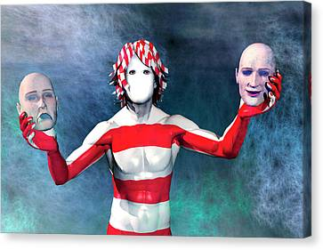 Masks Canvas Print by Carol and Mike Werner