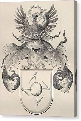 Masonic Seal Canvas Print by English School