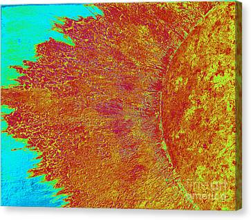 Mass Coronal Ejection Canvas Print by Rick Maxwell