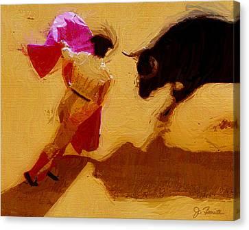 Matador Canvas Print by Joe Bonita