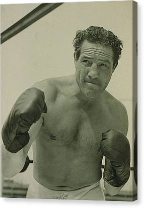 Max Baer 1909-1959, One-time Canvas Print by Everett