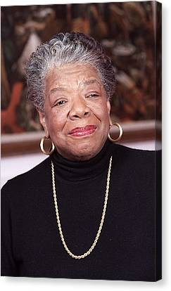 Maya Angelou Canvas Print by Robert Ponzoni