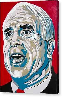 Mccain Canvas Print by Dennis McCann