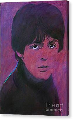 Mccartney Canvas Print by David Lloyd Glover