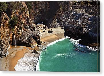 Mcway Falls Canvas Print by Floyd Hopper