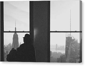 Me And Nyc Canvas Print by J Montrice