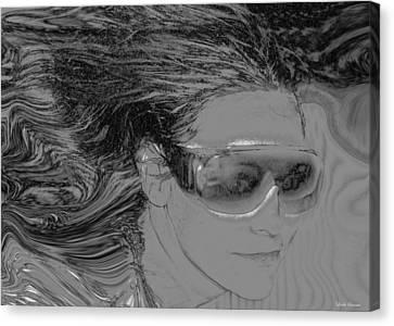 Me Canvas Print by Linda Sannuti