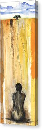 Me Time Canvas Print by Anthony Burks Sr
