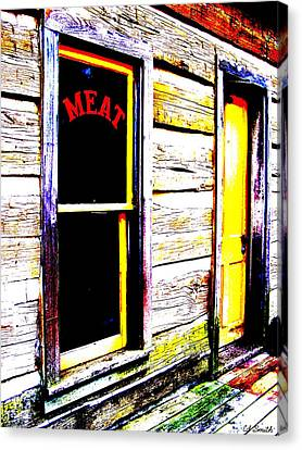 Meat Market Canvas Print by Ed Smith