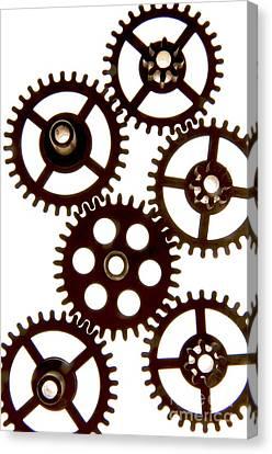 Mechanism Canvas Print by Bernard Jaubert