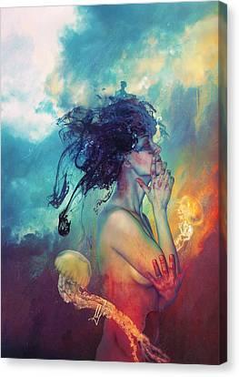 Medea Canvas Print by Mario Sanchez Nevado