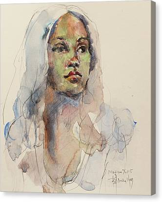 Medison Canvas Print by Becky Kim