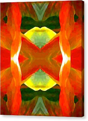 Meditation Canvas Print by Amy Vangsgard