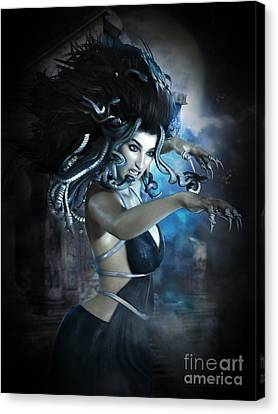 Medusa Canvas Print by Shanina Conway