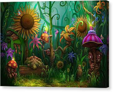 Meet The Imaginaries Canvas Print by Philip Straub