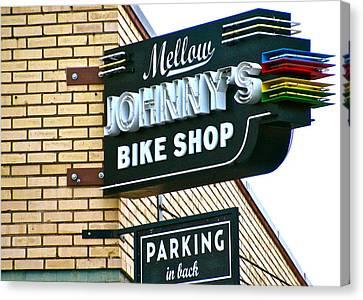 Mellow Johnny's Canvas Print by Frank SantAgata