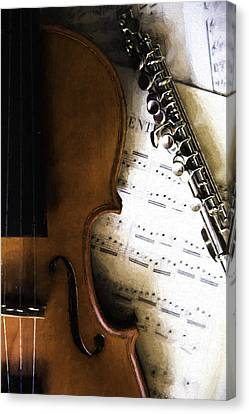 Melody Masters Canvas Print by Karl Fritz