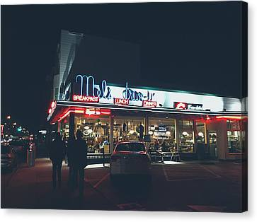 Mel's Drive - In Canvas Print by Mountain Dreams