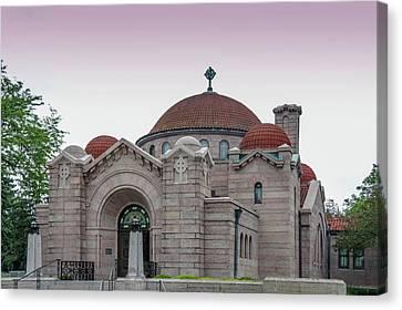 Memorial Chapel In Minneapolis, Minnesota.  Canvas Print by Art Spectrum