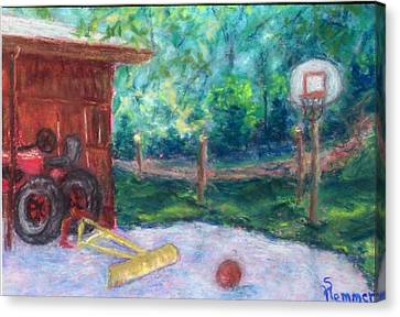 Memories 3 Canvas Print by Sandy Hemmer