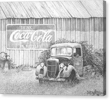 Memories Canvas Print by Howard Dubois