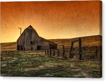 Memories Of Harvest Canvas Print by Mark Kiver